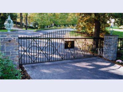 Residential Slide Gate