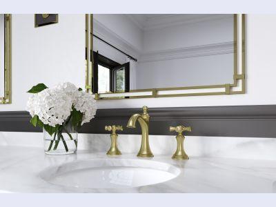 Tisbury 2-Handle Widespread Bathroom Faucet