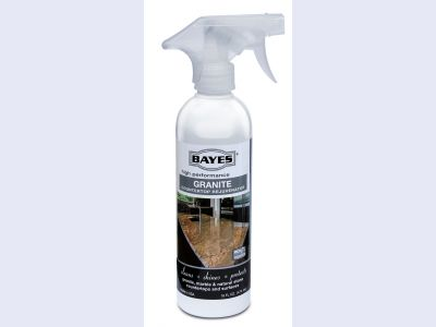 Bayes Premium Eco-Friendly Granite Countertop Cleaner and Rejuvenator Spray