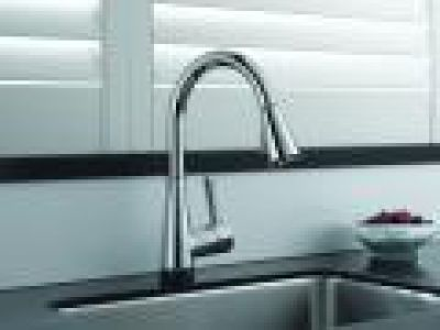 Venuto Kitchen Faucet with SmartTouch by Brizo