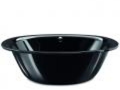 LUXXO DUO OVAL Black by Kaldewei