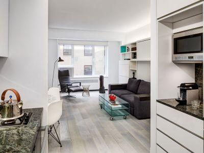 Smart Space Optimization: An Efficient Studio Apartment on Central Park South