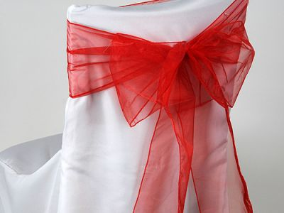 Wholesale Organza Chair Sashes for Wedding Decors