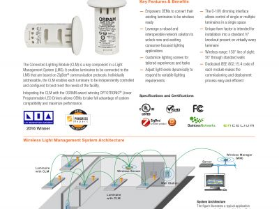 OSRAM Connected Lighting Module (CLM)