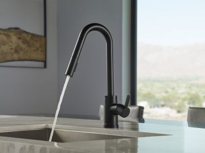 Amalfi™ Single Handle Pull-Down Kitchen Faucet