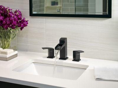 Kenzo Matte Black Bath Faucet