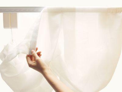 Curtain Call Roman Shade