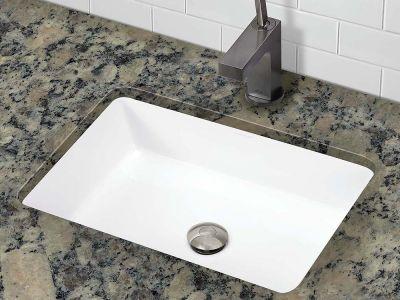 1482-CWH Undermount Rectangular Bathroom Sink