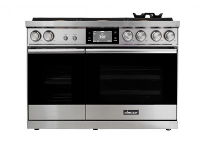 "Dacor 48"" Dual-Fuel Steam Range"