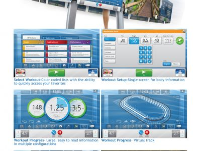 Life Fitness Discover User Interface