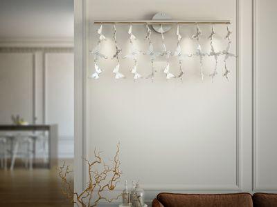 Galapagos Wall Lamp White
