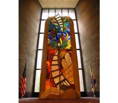 Custom Stained Glass Ark