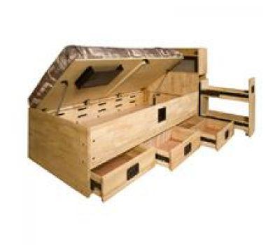 782-B University Loft Company Storage Lift Bed