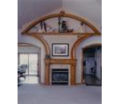 Arch Top Mantle