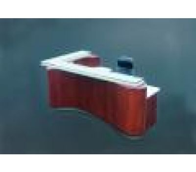 Abstract Reception Desk
