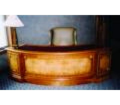 Curved Executive Desk