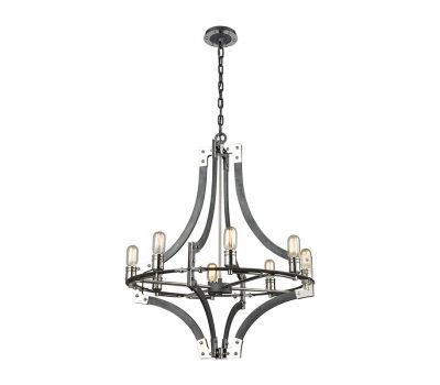 Riveted Plate Chandelier