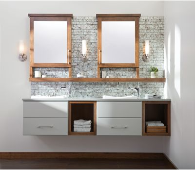 Floating Vanities & Linen Cabinets