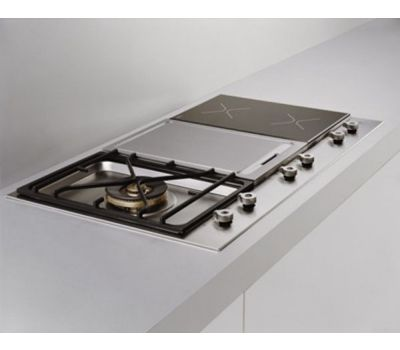 Design Series 36 inch Segmented Cooktop Gas Griddle Grill PM36 1 IG X