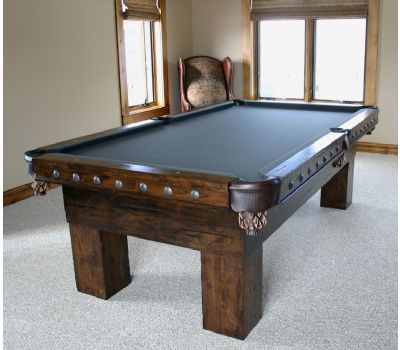 Custom American Prairie Billiard Table