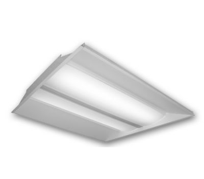 LED Lay-In Troffer - Recessed Low Profile