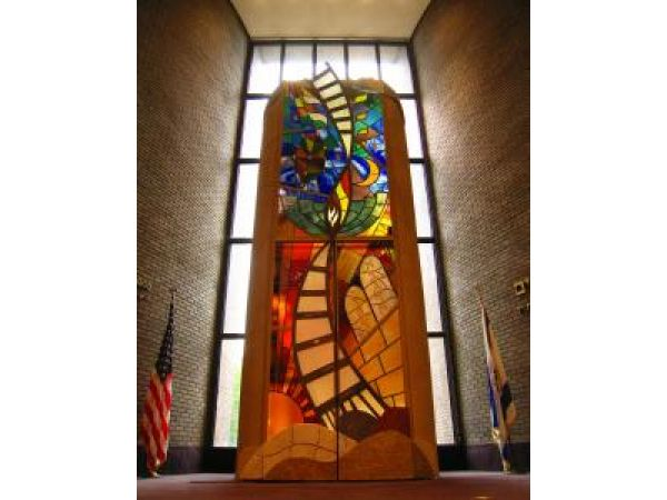 Custom Stained Glass Ark