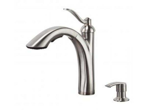 Rembrandt Pull-Out Kitchen Faucet