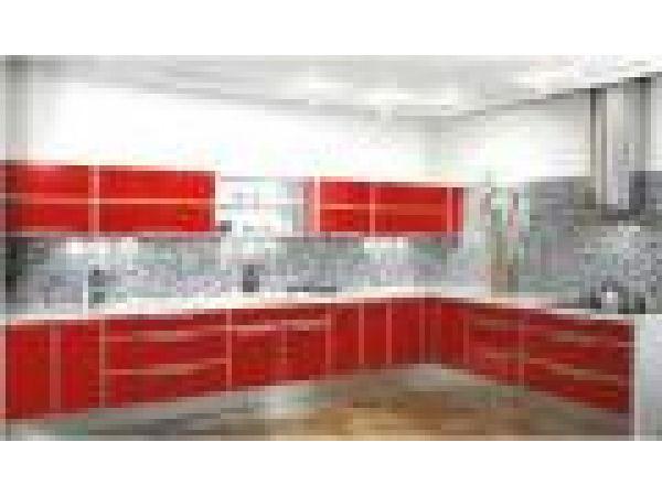 Green Aluminum Cabinetry - Ibiza Kitchen