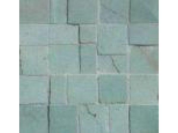 Stone Mosaics-Green Seafoam