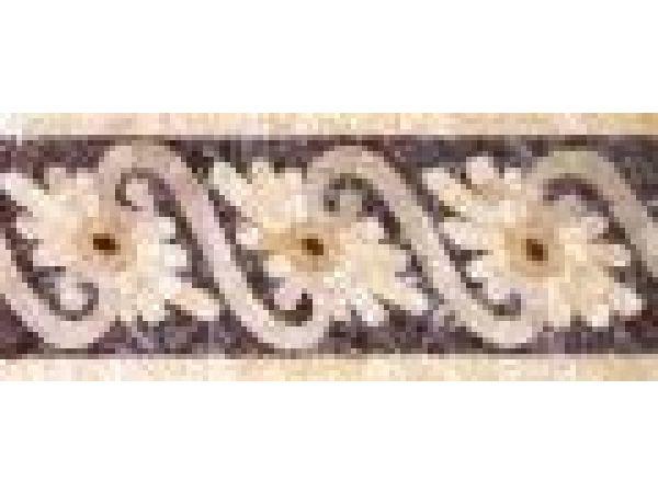 Stone Mosaics-5.25x12 Fleure Ripple 026