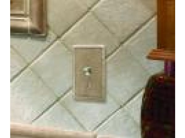 Cast Stone Switch Plate