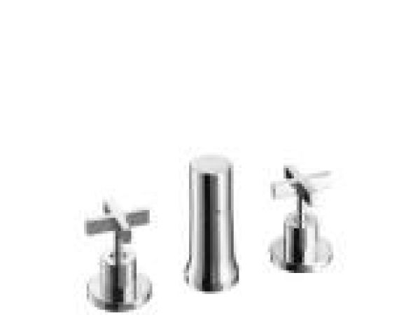 Axor Citterio Vertical Bidet Faucet with Cross Handles