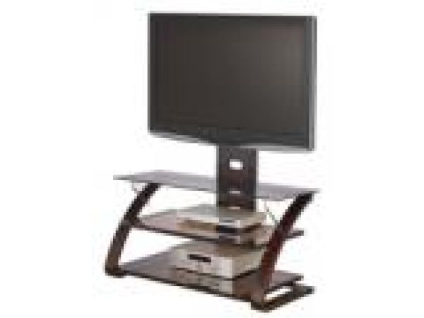 Keira 3 in 1 flat panel television stand w/ mount