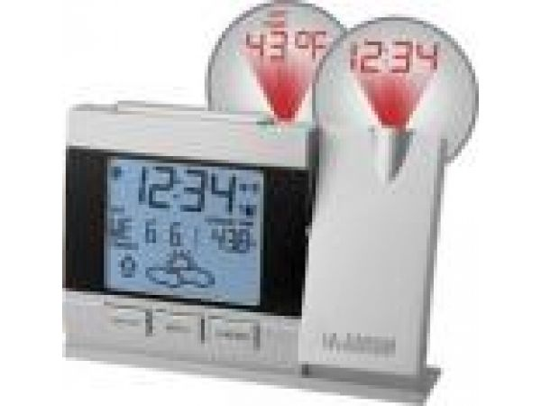 WT-5442Projection Alarm Clock with Forecast