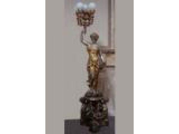 Cast Iron, Bronze & Aluminum Statues - S009A
