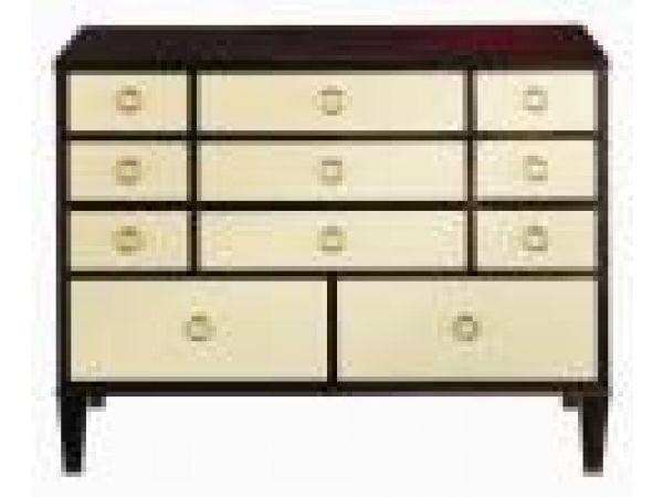 2004-007 Chest with Oyster Contrasting Drawers