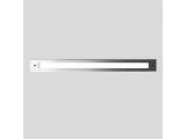 Recessed wall - linear diffused LED