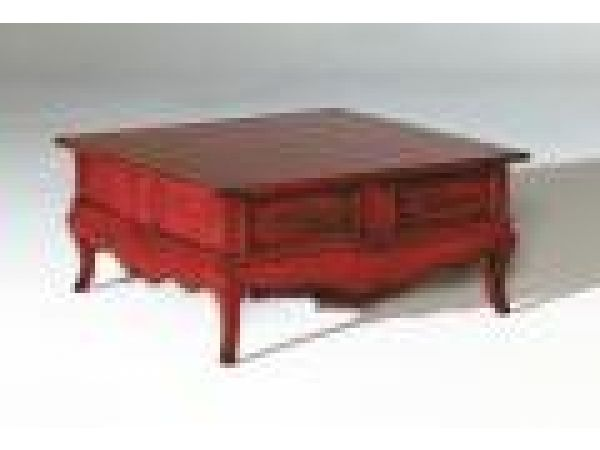3930 Square Lift Lid Coffee Table