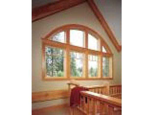 JELD-WEN' Wood Windows with AuraLast Wood
