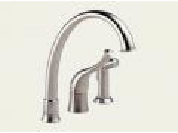 Providence Contemporary: Single Handle Kitchen Faucet