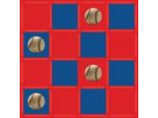 RED & BLUE BASEBALL
