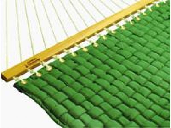 Forest Green Softweave Large Quilted Hammock