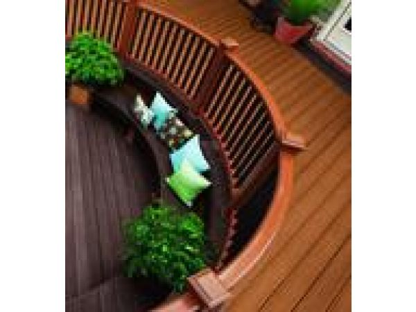 Transcend Decking in Tree House