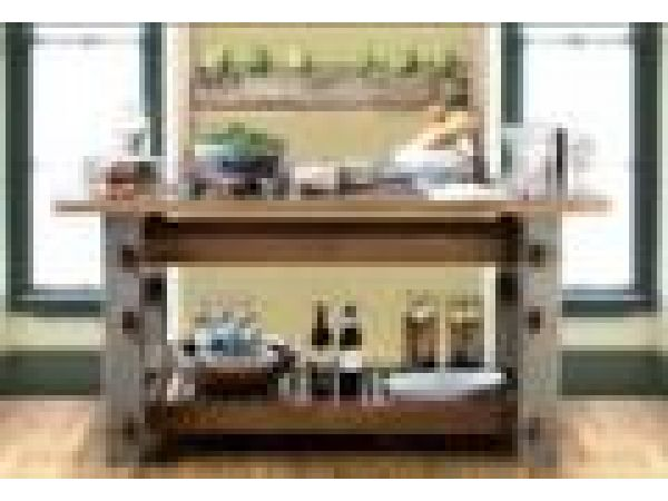 C28 Loft Table & C28 Loft Pot Rack