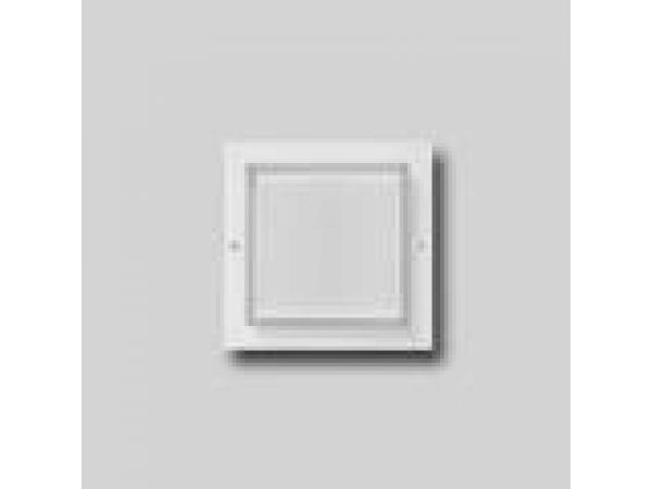 Recessed wall - low voltage with crystal matte gla