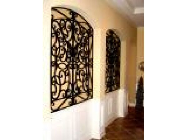Tableaux¢â€ž¢ Faux Iron for Wall Niches