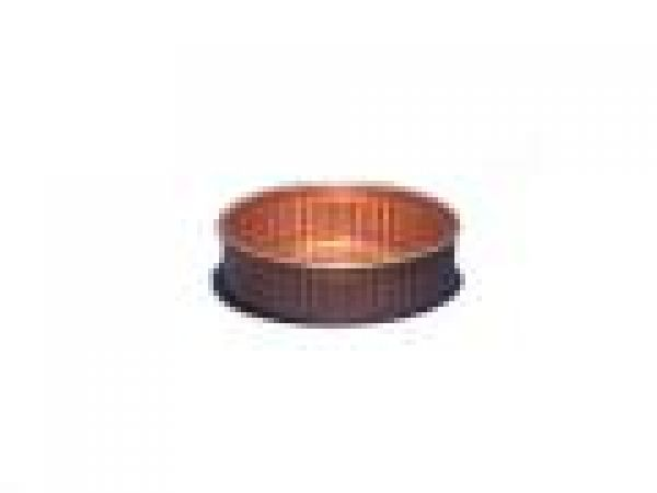 2  Copper Coaster, embossed wall