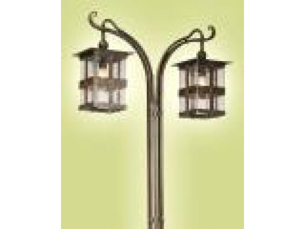Nagano Posted Lamp (Twin Light)