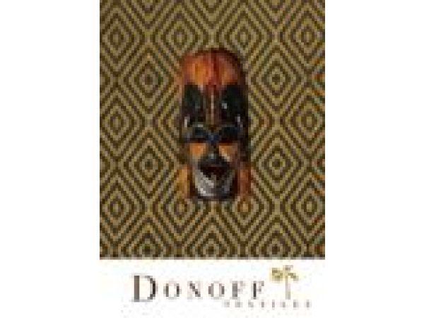 Donoff Textiles - Gesture Dark