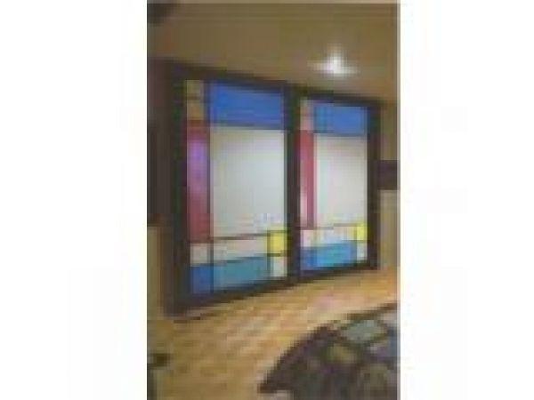 Mondrian  Shoji Screen